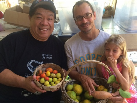 Celebrity Chef Sam Choy visits the ARTfarm to pick up some ingredients for a St. Croix Food & Wine Experience charity event. We talked breadfruit and ate limes!